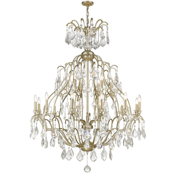 Franks 18-Light Candle Style Chandelier by House of Hampton