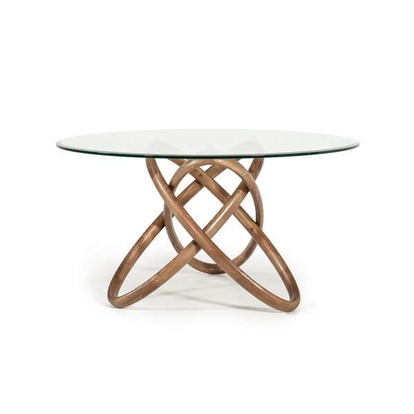 Hardnett Solid Wood Dining Table by Ivy Bronx