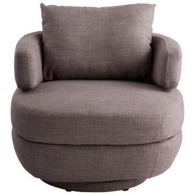Suitor Swivel Barrel Chair by Cyan Design