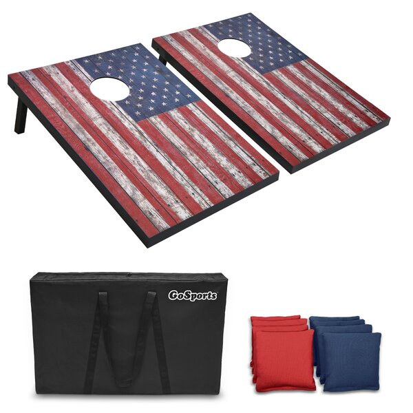 American Flag Cornhole Board by GoSports