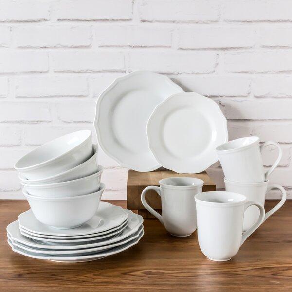 Tammie 16 Piece Dinnerware Set, Service for 4 by Greyleigh