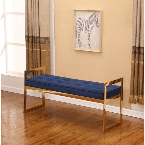 Marez Upholstered Bench by Ivy Bronx