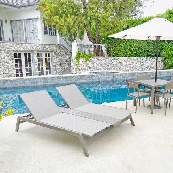 Maddison Riviera Double Reclining Chaise Lounge