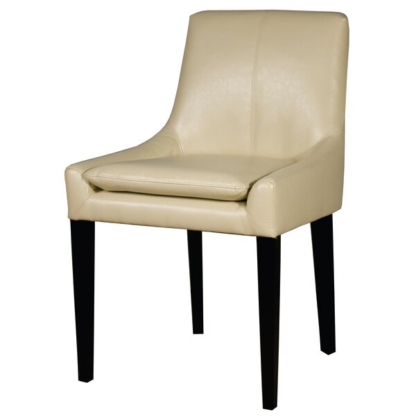 Thorton Bonded Leather Upholstered Dining Chair by Union Rustic