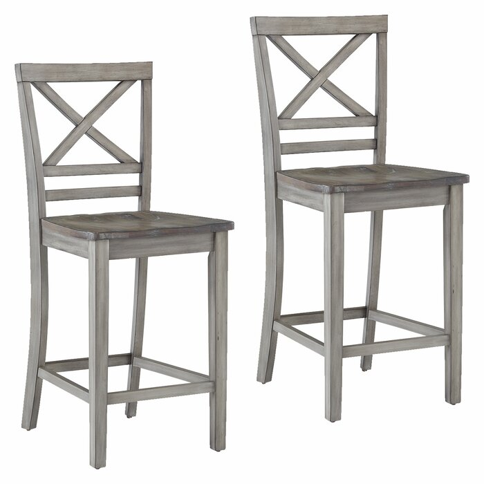 Excellent Duplessis Distressed Counter Height Bar Stool Caraccident5 Cool Chair Designs And Ideas Caraccident5Info