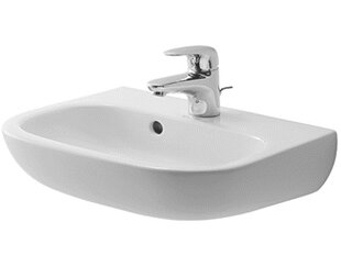 Affordable Price D-Code Ceramic 18 Wall Mount Bathroom Sink with Overflow ByDuravit