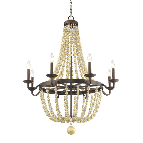 Prather 8-Light Candle Style Empire Chandelier by Bay Isle Home Bay Isle Home