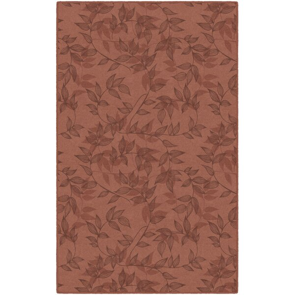 Roxana Floral Red Area Rug by Winston Porter