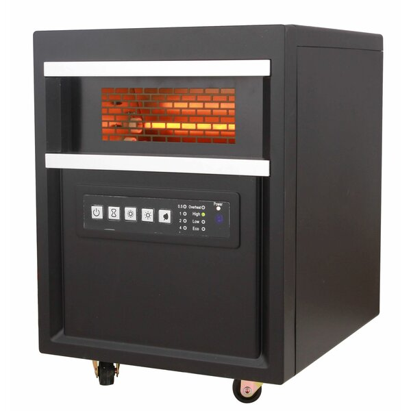 1500 Watt Electric Infrared Cabinet Heater By Presto