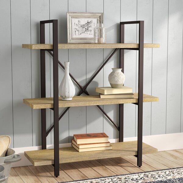 Carmine Three Level Etagere Bookcase by Laurel Fou