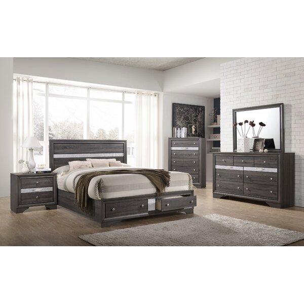 Logan Queen Storage Platform Bed by MYCO Furniture