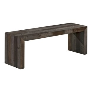 Willams Wood Bench by Trent Austin Design
