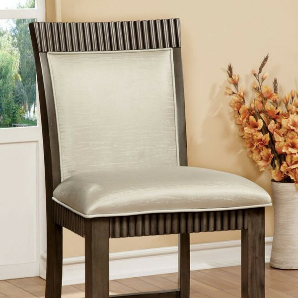 Pond Counter Height Upholstered Bar Stool (Set of 2) by Darby Home Co
