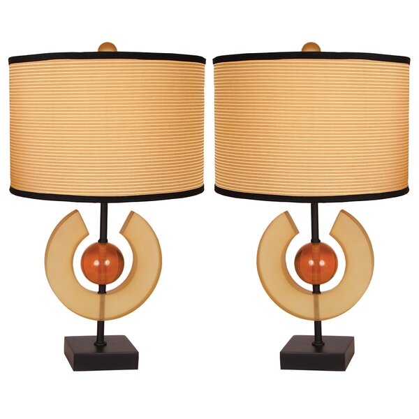 Mcgowan 27 Table Lamp (Set of 2) by World Menagerie
