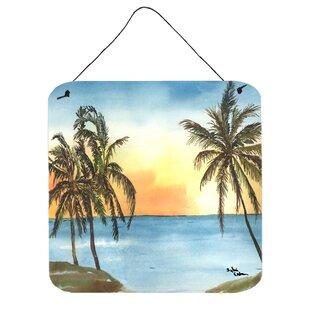 Palm Tree Wall Art Plaque