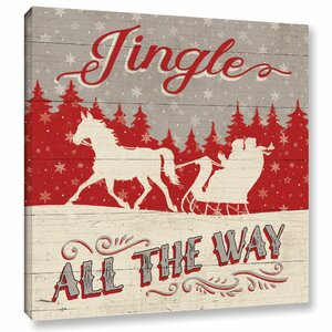 Holiday in the Woods Graphic Art on Wrapped Canvas