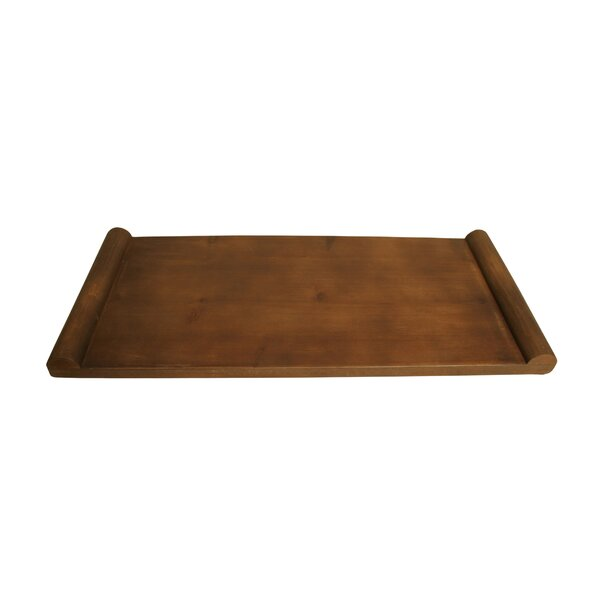 Lucrezia Wooden Serving Tray by Gracie Oaks