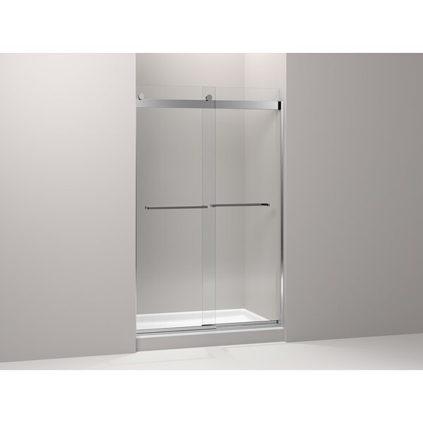 Levity 47.63'' x 74'' Double Sliding Shower Door with CleanCoat® Technology by Kohler