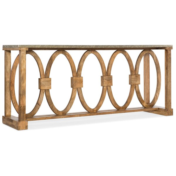 Gilles Accent Console Table By Bloomsbury Market
