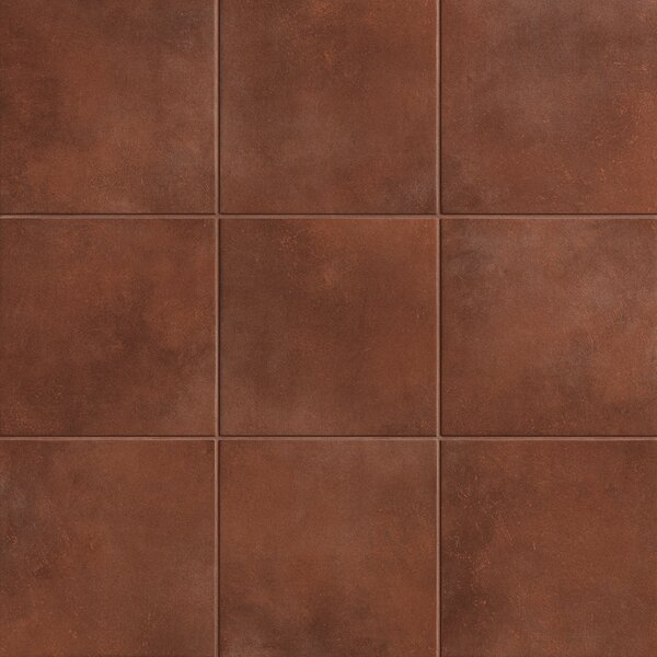 Poetic License 6 x 6 Porcelain Field Tile in Umber by PIXL