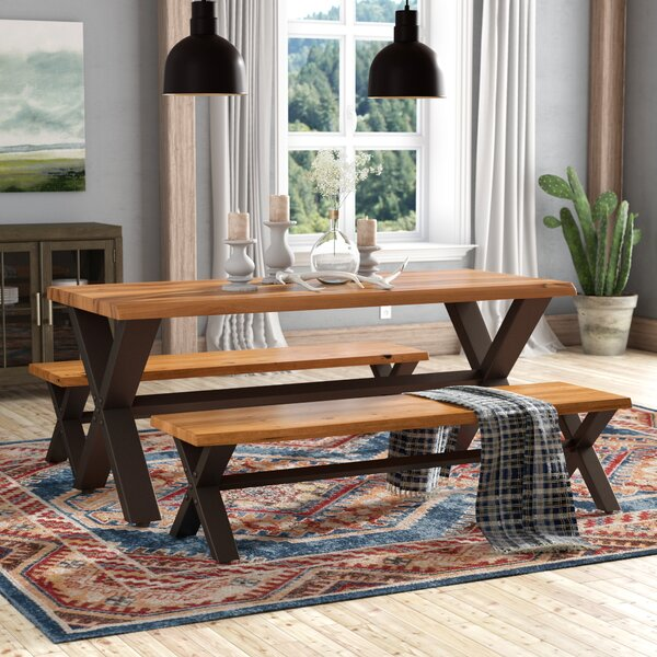 Batavia 3 Piece Dining Set by Loon Peak