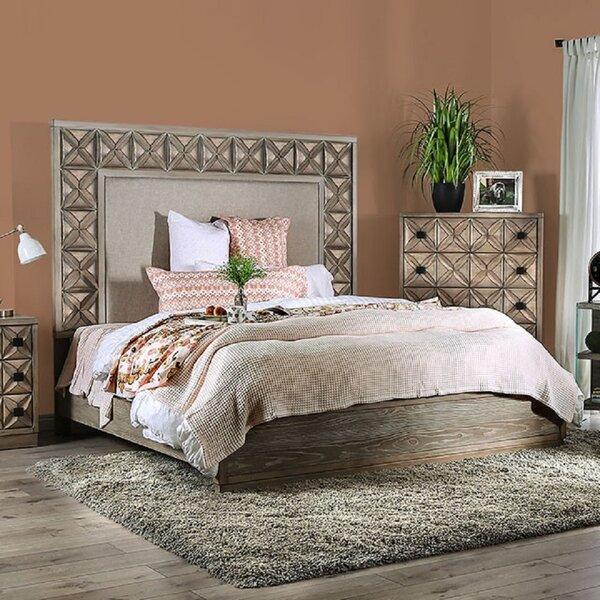 Somer Upholstered Platform Bed by Bungalow Rose