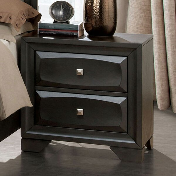 Mccafferty 2 Drawer Nightstand by Winston Porter