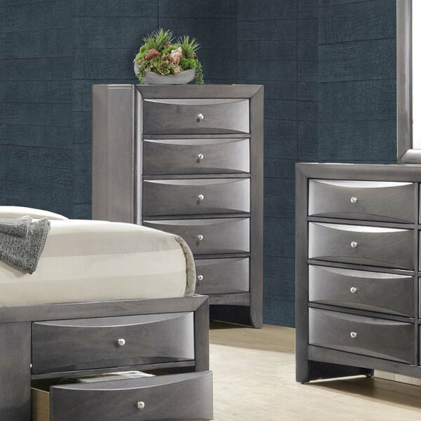 Ishmael 5 Drawer Chest by Latitude Run