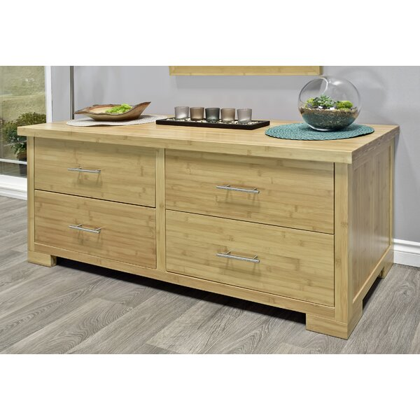 Acosta 4 Drawer Double Dresser by Millwood Pines