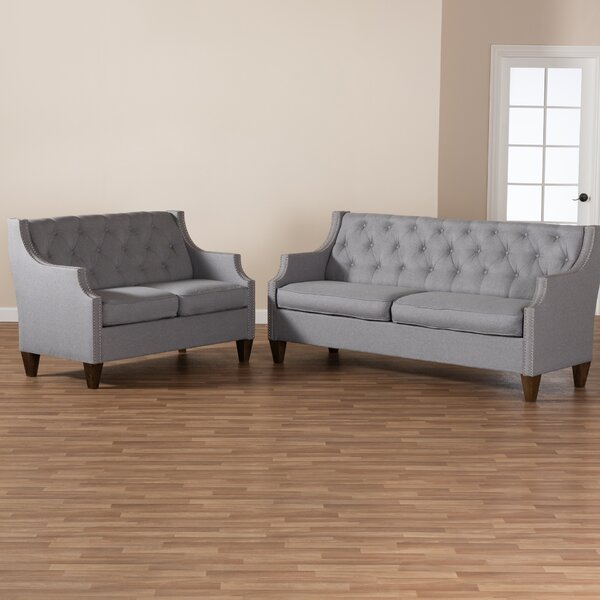 Chen 2 Piece Living Room Set by Charlton Home