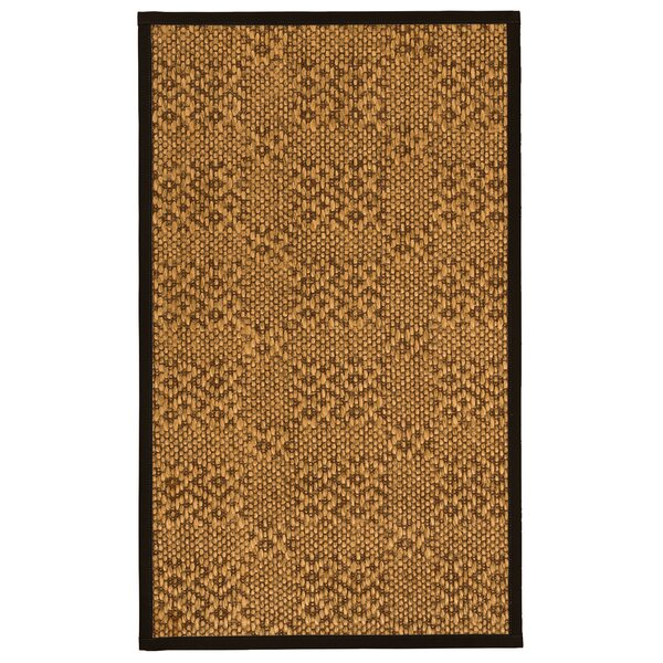Camile Hand-Woven Beige Area Rug by World Menagerie