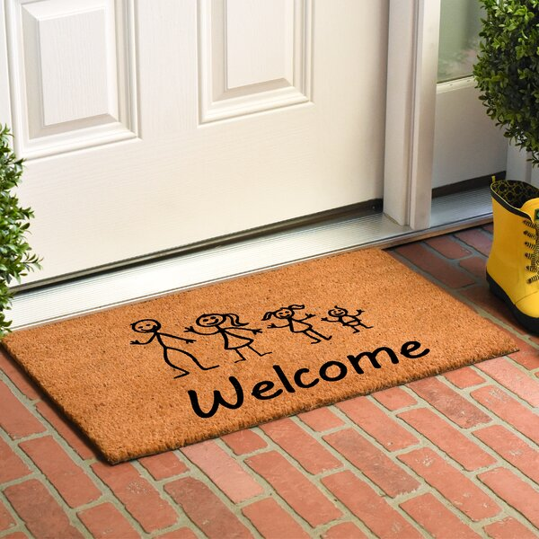 Kuehl Stick Family Doormat by Winston Porter