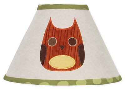 Forest Friends 10 Cotton Empire Lamp Shade by Sweet Jojo Designs