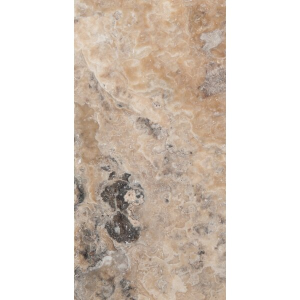 Travertine 8 x 16 Chiseled Field Tile in Onyx by Emser Tile
