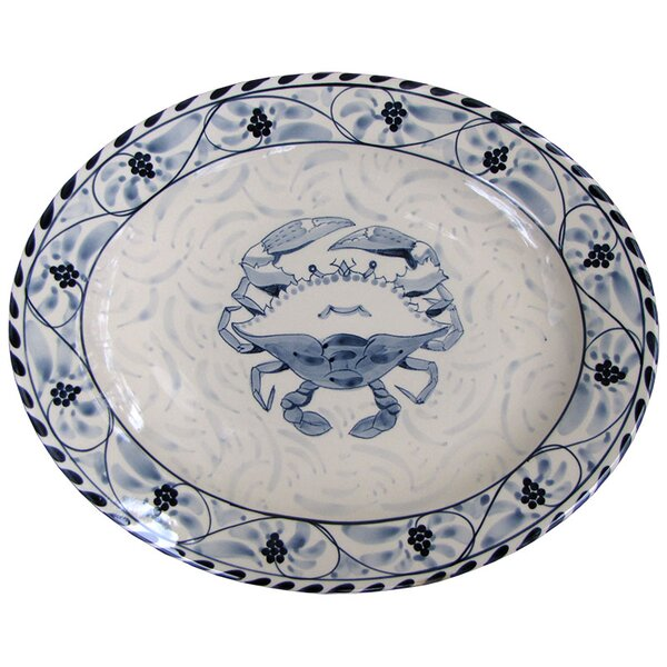 Oval Platter by Blue Crab Bay Co.