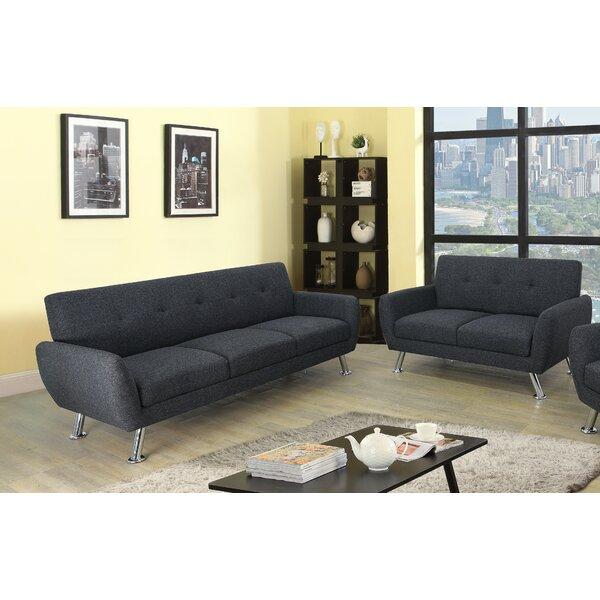 Mendoza 2 Piece Living Room Set by Ebern Designs
