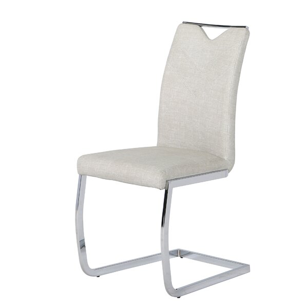 Sawin Upholstered Dining Chair (Set of 4) by Orren Ellis