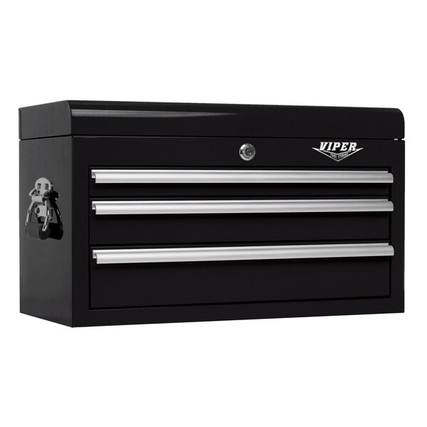26W 3-Drawer Top Chest by Viper Tool Storage