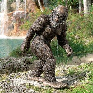 Bigfoot The Garden Yeti Statue