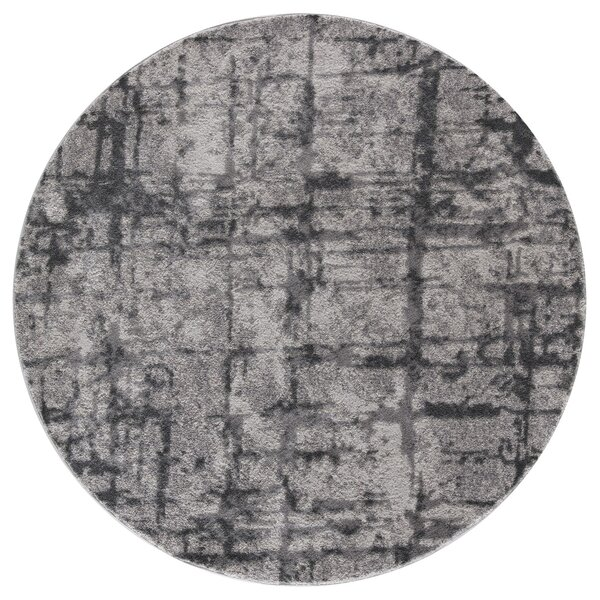 Desdemona Gray Area Rug by Ebern Designs