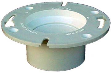 40 PVC-DWV Pop Top Closet Flange by GenovaProducts