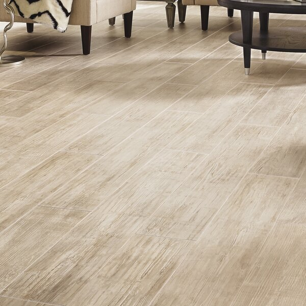 Restoration Wide Plank 8'' x 51'' x 12mm Laminate Flooring in Sea Shell by Mannington