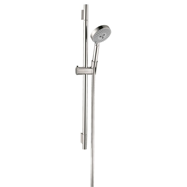 Unica S Wallbar Rain Slide Bar Shower Head By Hansgrohe