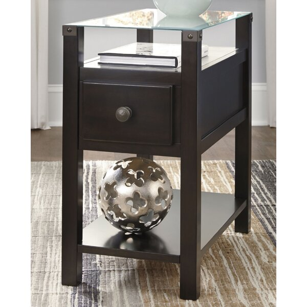Hubertine End Table With Storage By Latitude Run
