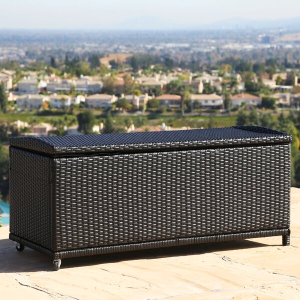 Sigma Outdoor Storage Ottoman By Wade Logan by Wade Logan Sale