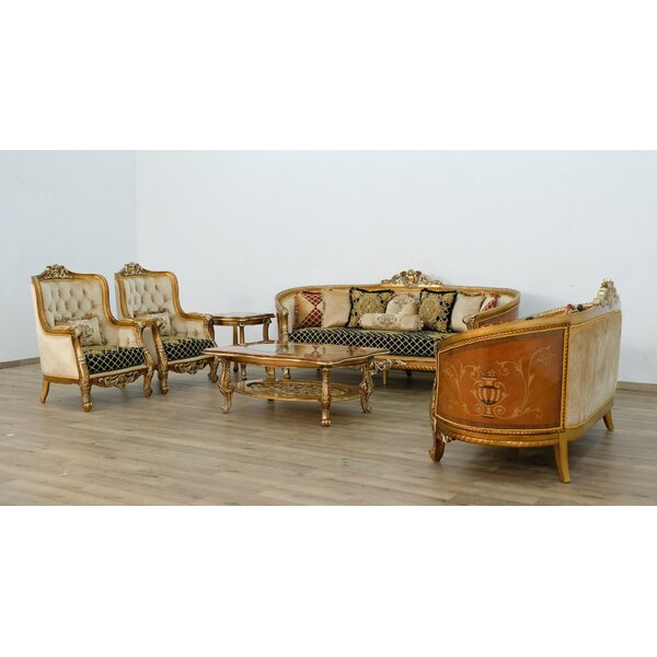 Toups II 3 Piece Living Room Set By Astoria Grand