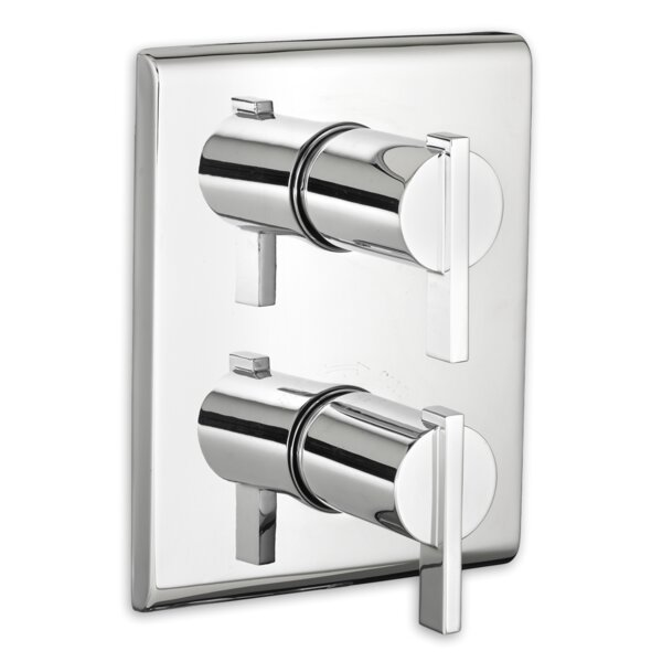 Times Square Thermostat Trim Double Handle by American Standard