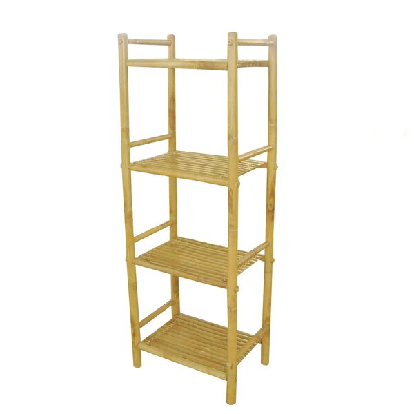 Tier Bamboo Etagere Bookcase by Rebrilliant