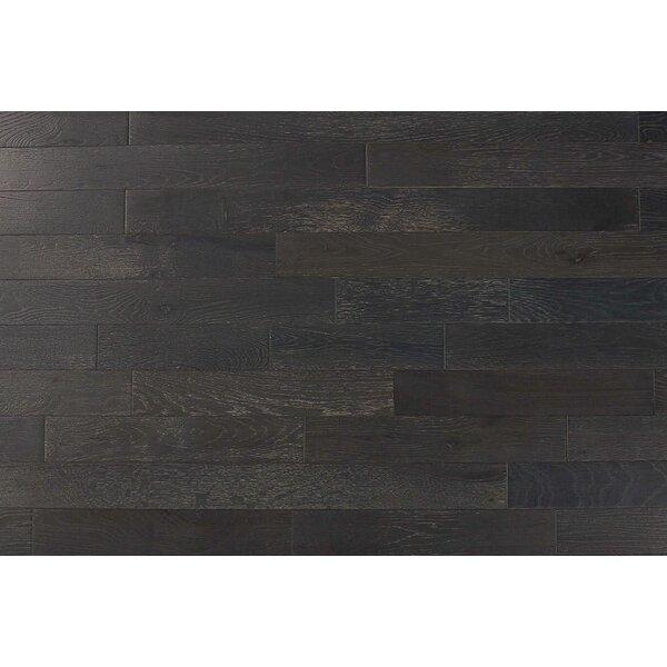 Hilltop 3 Solid Oak Hardwood Flooring in Graphite by Albero Valley