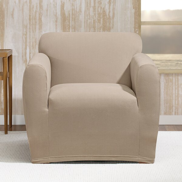 Stretch Morgan Box Cushion Armchair Slipcover by Sure Fit